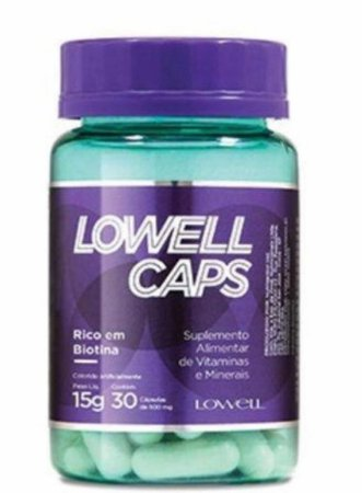 Lowell Caps 30 Cácpsulas 15G