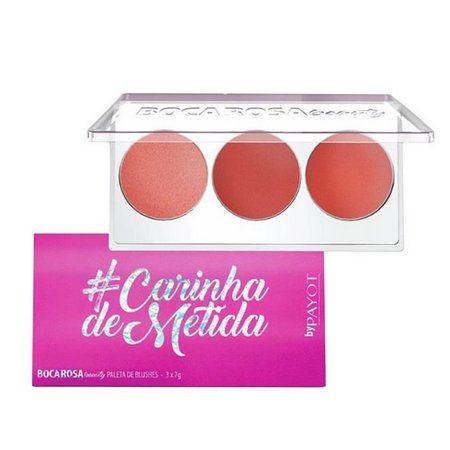 Boca Rosa Beauty Paleta de Blush #CarinhaDeMetida