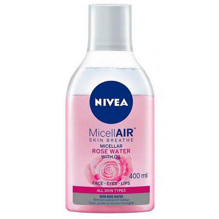 Nivea Água Micelar Bifásica de Rosas 400ML