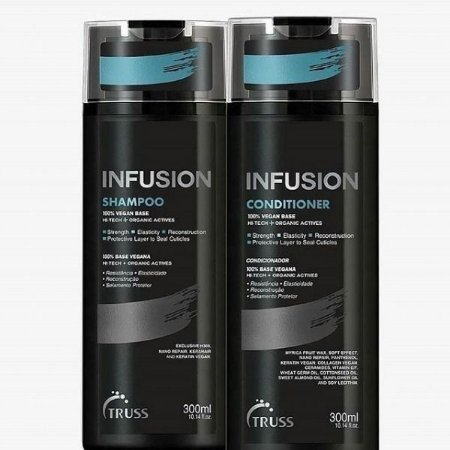 Truss Infusion Kit (Shampoo + Condicionador)