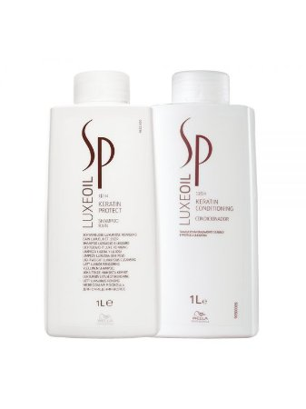 Wella Kit Luxe Oil Shampoo 1LT + Condicionador 1LT