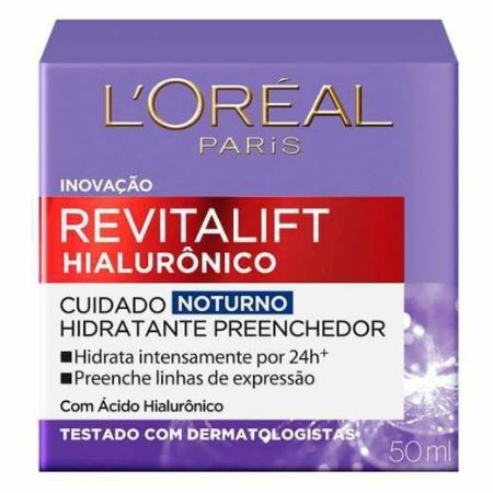 Loreal Revitalift Hialuronico Noturno 50ML