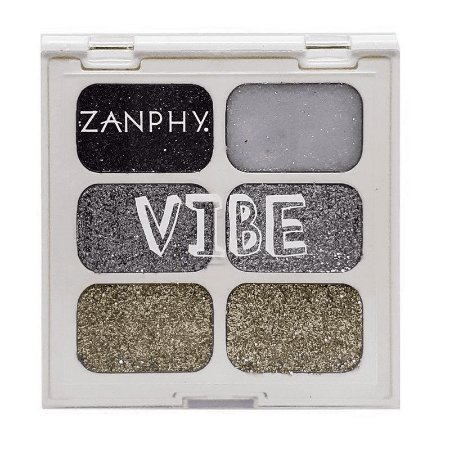 Zanphy Paleta de Glitter Linha Vibe