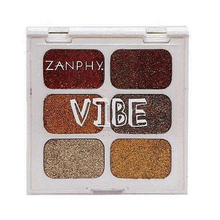 Zanphy Paleta de Glitter Linha Vibe 03