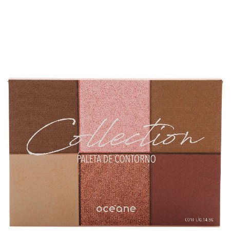 Oceane Collection Paleta Contorno 6 Cores
