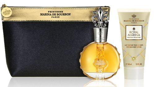 Kit Royal Marina Diamond Marina de Bourbon Eau de Parfum 100ml + Loção Corporal 150ml + Nécessaire Feminino