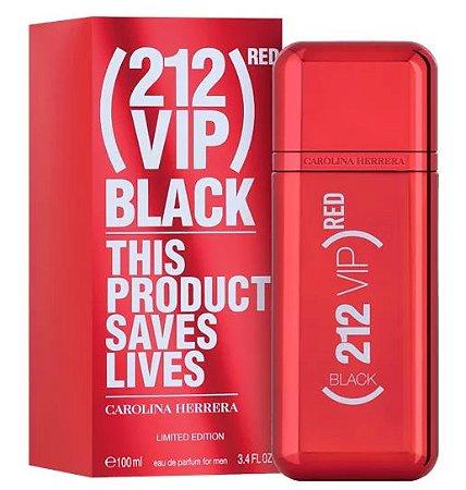 CAROLINA HERRERA  212 VIP BLACK RED EDP 100ML ED LIMITADA