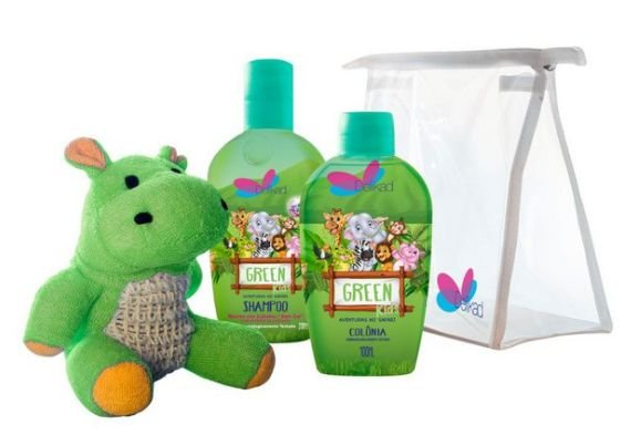 DELIKAD KIT KIDS SAFARI GREEN COL/SH 100 ML / 200 ML