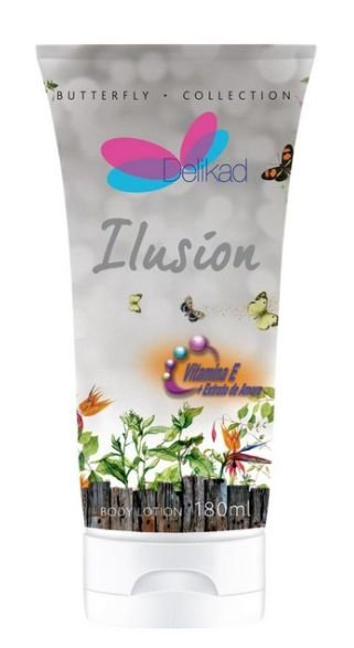 DELIKAD BODY LOTION BUTTERFLY ILUSION 180 ML