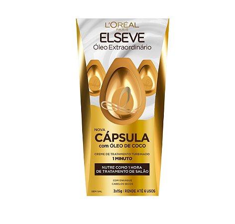ELSEVE CAPSULA OLEO DE COCO 3X15ML
