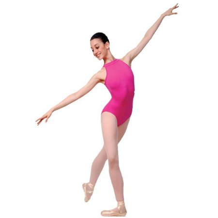 Collant de Ballet Adulto Supplex Tiras Verticais Capezio CAP236