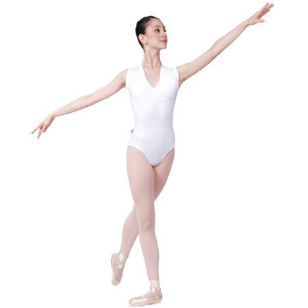 Collant de Ballet Adulto Regata Decote Cruzado Capezio CAP239