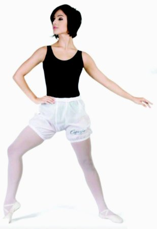 Bermuda de Ballet para Aquecimento em Nylon Adulto ou Infantil Capezio Ref 1089
