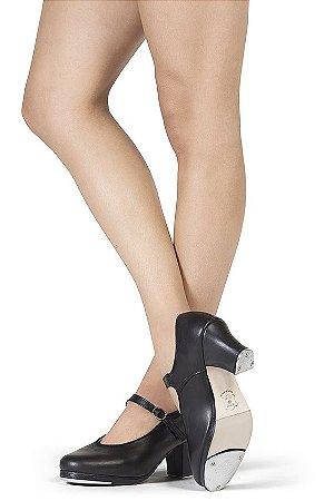 Sapato para Sapateado Modelo de Boneca em Couro Capezio CT20