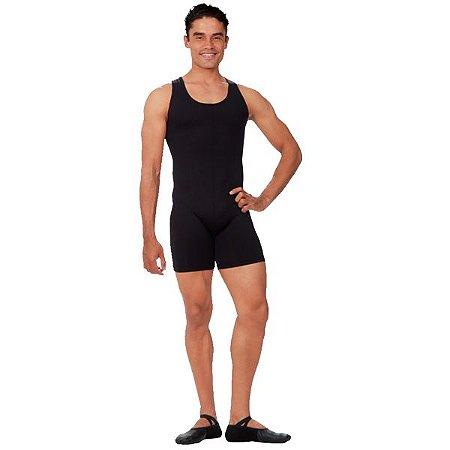 Macaquinho Ballet Masculino Costas Nadador Capezio CAP270