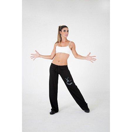 Calça Pantalona para Dança Adulto Saint Tropez em Malha Capezio Ref 737