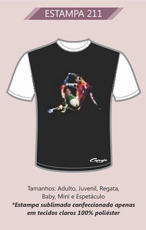 Camiseta Adulto ou Juvenil Diversas Estampas Capezio Ref 8008