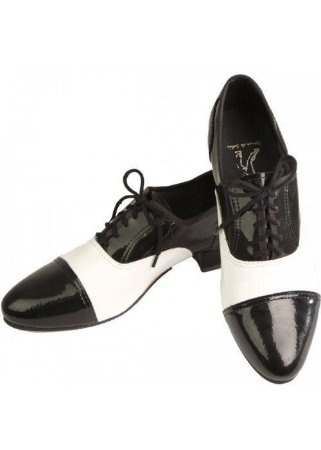 Sapato para Dança de Salão Masculino Bicolor Capezio CJ02V