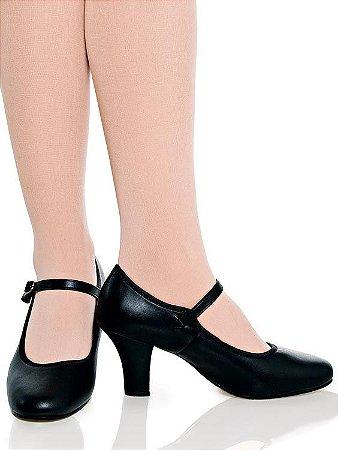 Sapato para Dança de Salão Feminino Boneca Capezio Ref 40c