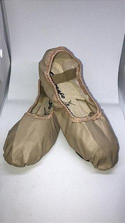 Sapatilha de Ballet Bege Meia Ponta Korino Capezio Ref 002k