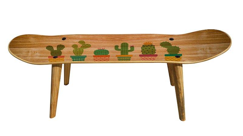 Banqueta Shape Estampado - Cactus