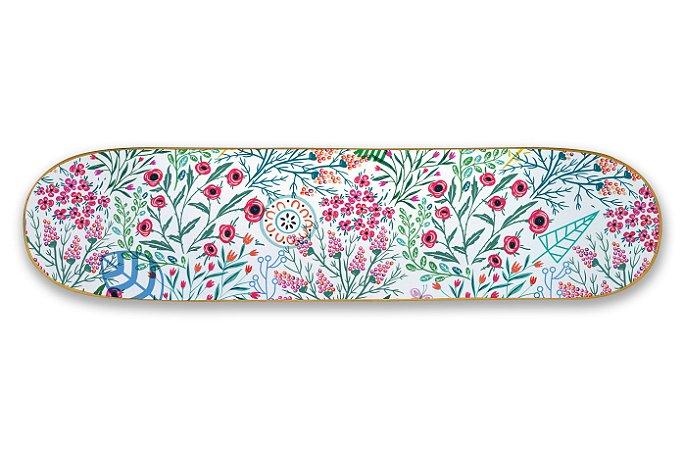 Quadro Shape Estampado - Floral