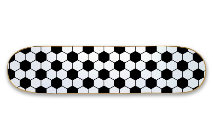 Quadro Shape Estampado - Futebol
