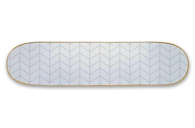 Quadro Shape Estampado - Geométrico Zigue-Zague