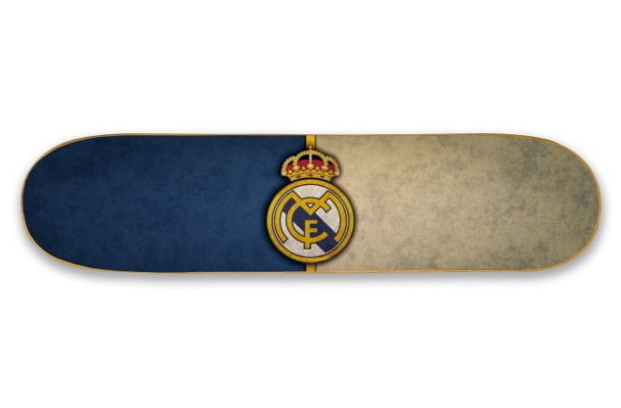 Quadro Shape Estampado - Real Madrid C.F.