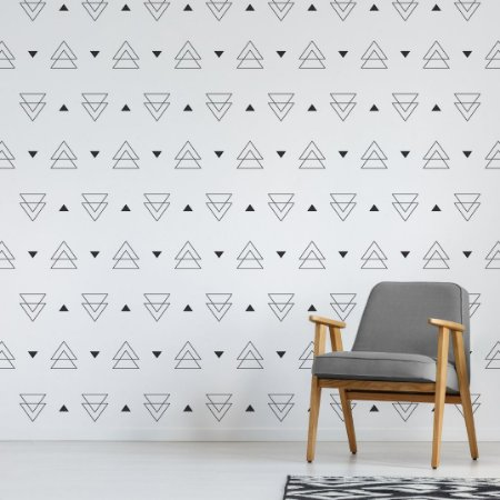 Adesivo de Parede - Triângulos Duplos