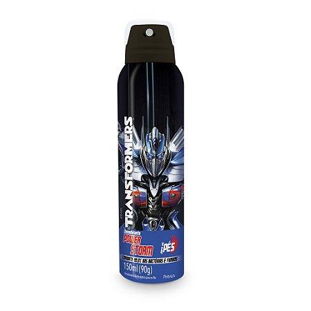 Desodorante aerosol Transformers para os pés  POWER STORM - 150ML