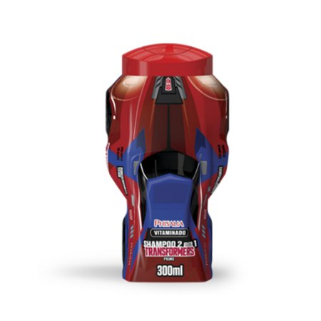 Shampoo 2 em 1 Transformers Vitaminado - 400ML