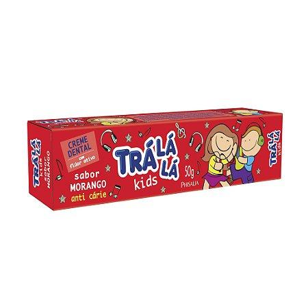 Trá Lá Lá Kids Creme Dental Morango - 48G