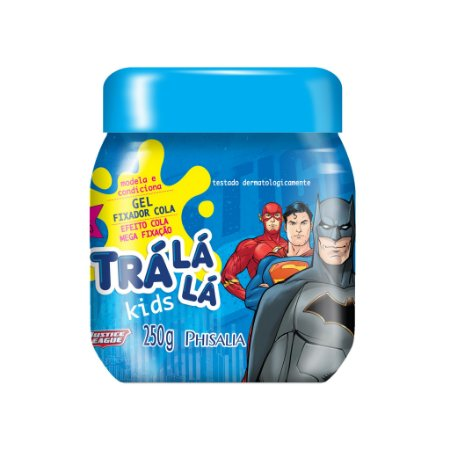 Trá Lá Lá Kids Gel Cola - Personagens - 250G