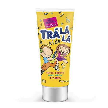 Trá Lá Lá Kids Gel Dental com Flúor - Tutti Frutti (3 a 7 anos) - 70G