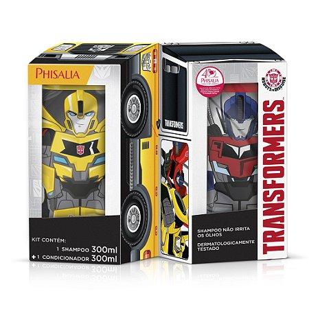 Transformers Kit Shampoo e Condicionador - Shampoo 300ML  + Condicionador 300ML