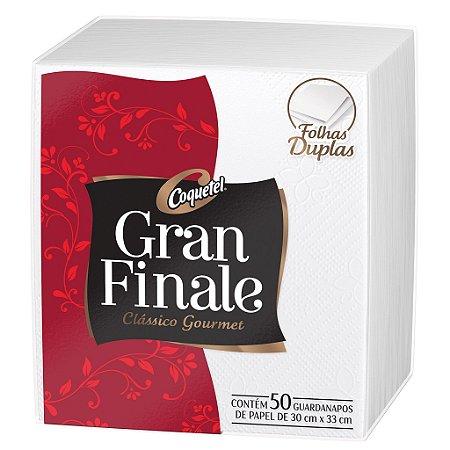 GUARDANAPO GRAN FINALE  30 X 33 CM - PCT COM 50 UNIDADES