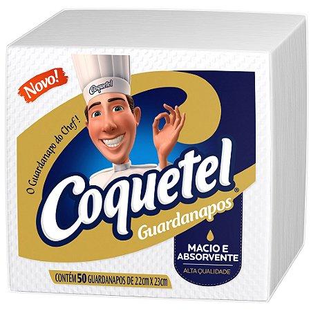 GUARDANAPO COQUETEL 22 X 23 CM - PCT  COM 50 UNIDADES