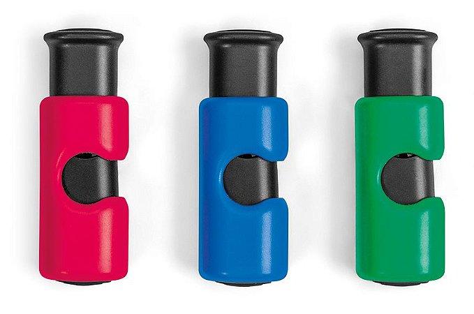 Conjunto ORDENE com 03 Lacres Para Embalagens-Cor  Vermelho + Verde + Azul