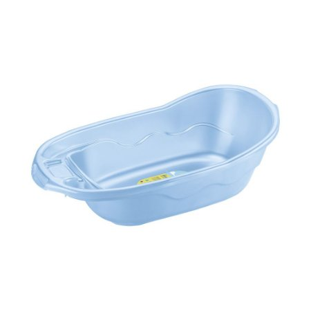 Banheira Plástico Infantil-Capacidade 26 Litros-Cor Azul-SANREMO