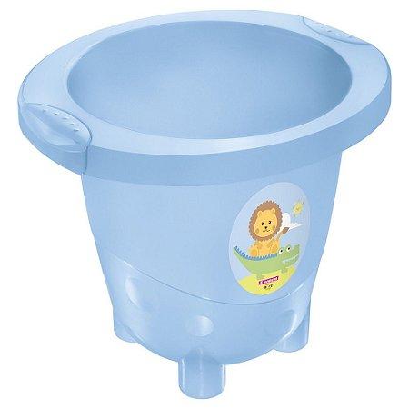 Ofurô Infantil Plástico -18 Litros-Cor Azul-SANREMO