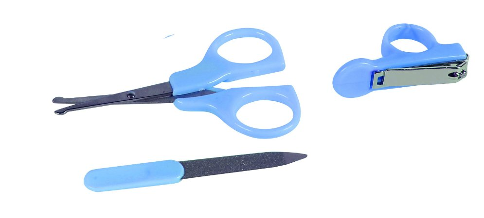 Kit Higiene Para as Unhas PREMIUM-Cor Azul-Babygo