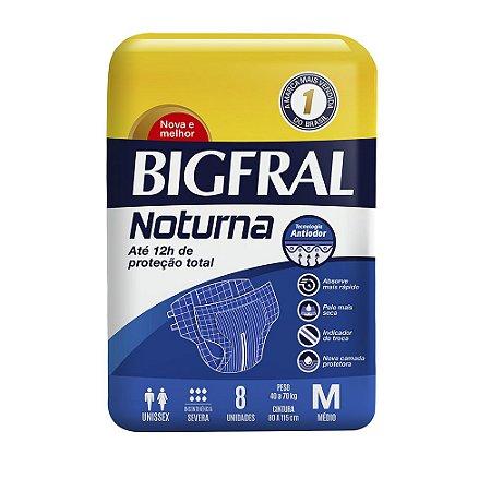 Fralda BIGFRAL NOTURNA MD 8 Unidades