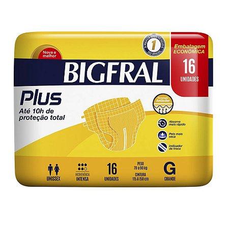 Fralda BIGFRAL PLUS  GD 16 Unidades