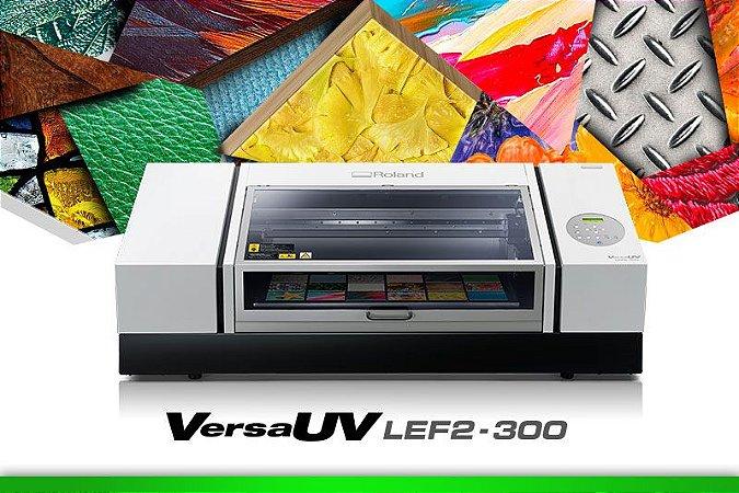 Impressora UV de mesa - Roland  LEF2-300 (VersaUV)