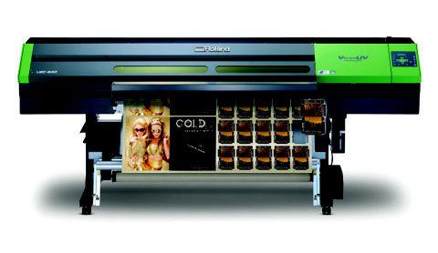 Impressora UV-LED com recorte- Roland  LEC-540 (VersaUV)