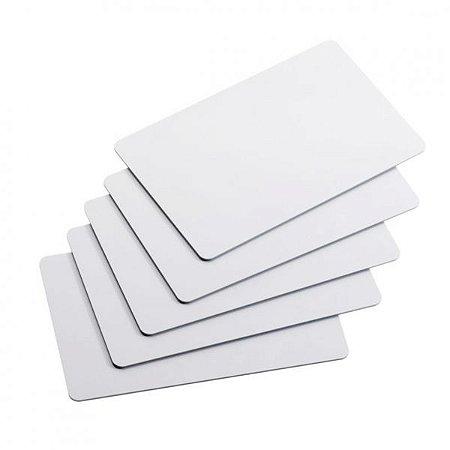 Cartão PVC Branco 0,76mm