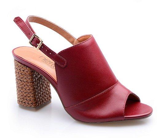 Sandália Neftali Comfort Vermelha