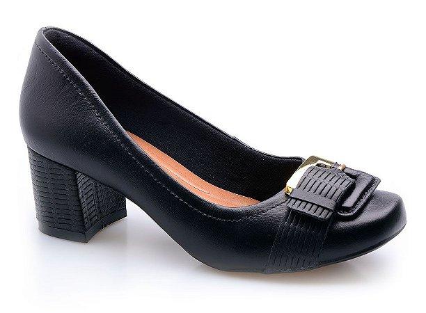 Sapato Neftali Comfort Fivela Preto