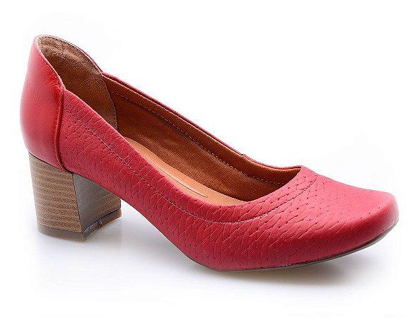 Sapato Neftali Comfort Tressê Scarlet